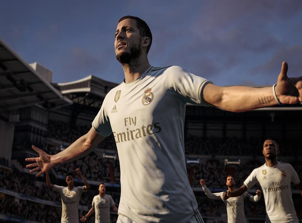 Fifa introduced its 'Ultimate Team' concept where players could buy 'packs' of players