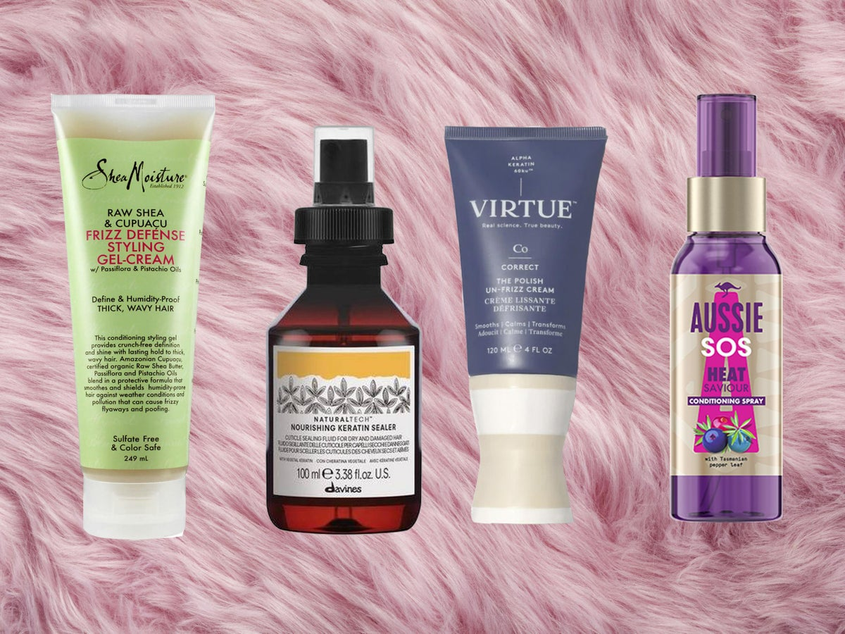 Best anti frizz hair products Solutions for every hair type   The ...