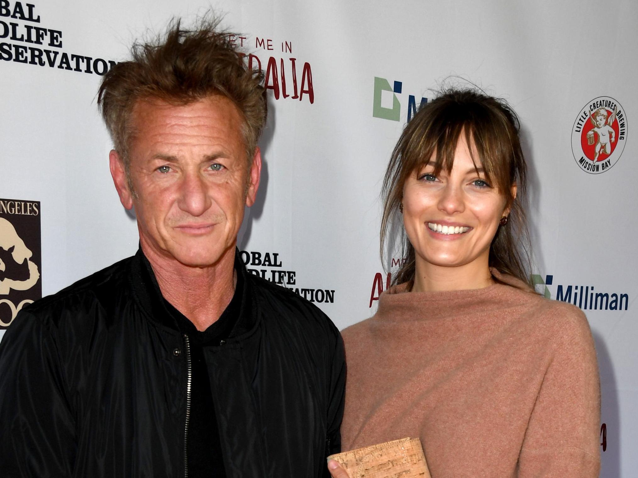 Sean Penn, 59, confirms he and Leila George, 28, had a 'Covid wedding'
