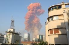 Huge blasts hit Beirut as buildings destroyed across city
