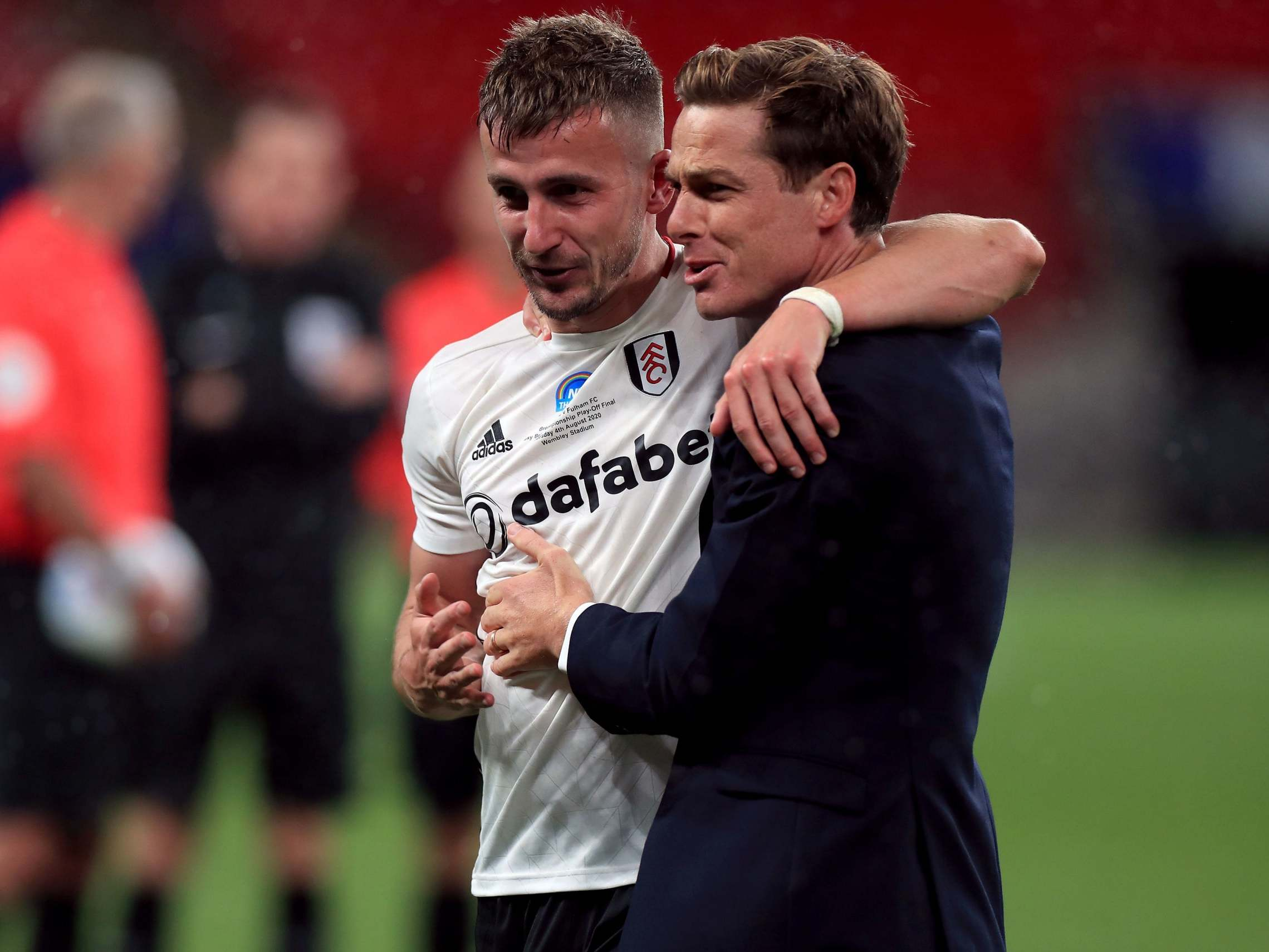 Defiant Joe Bryan and emotional Scott Parker revel in Fulham's Wembley win