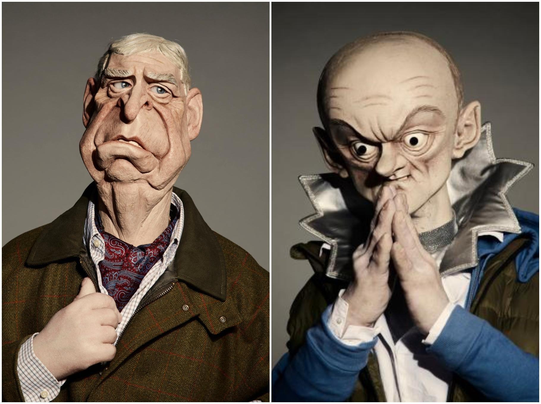 Spitting Image Dominic Cummings And Prince Andrew Reimagined As