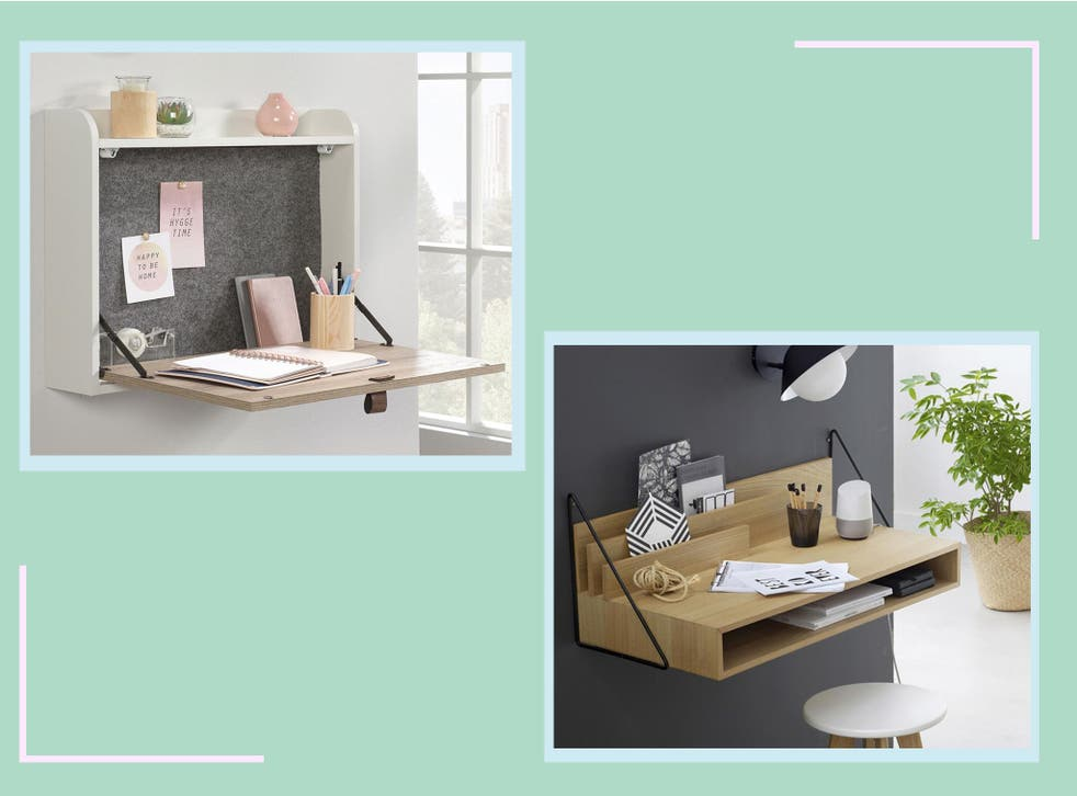 A folding desk will help separate work from downtime, as they can easily merge into one while working remotely