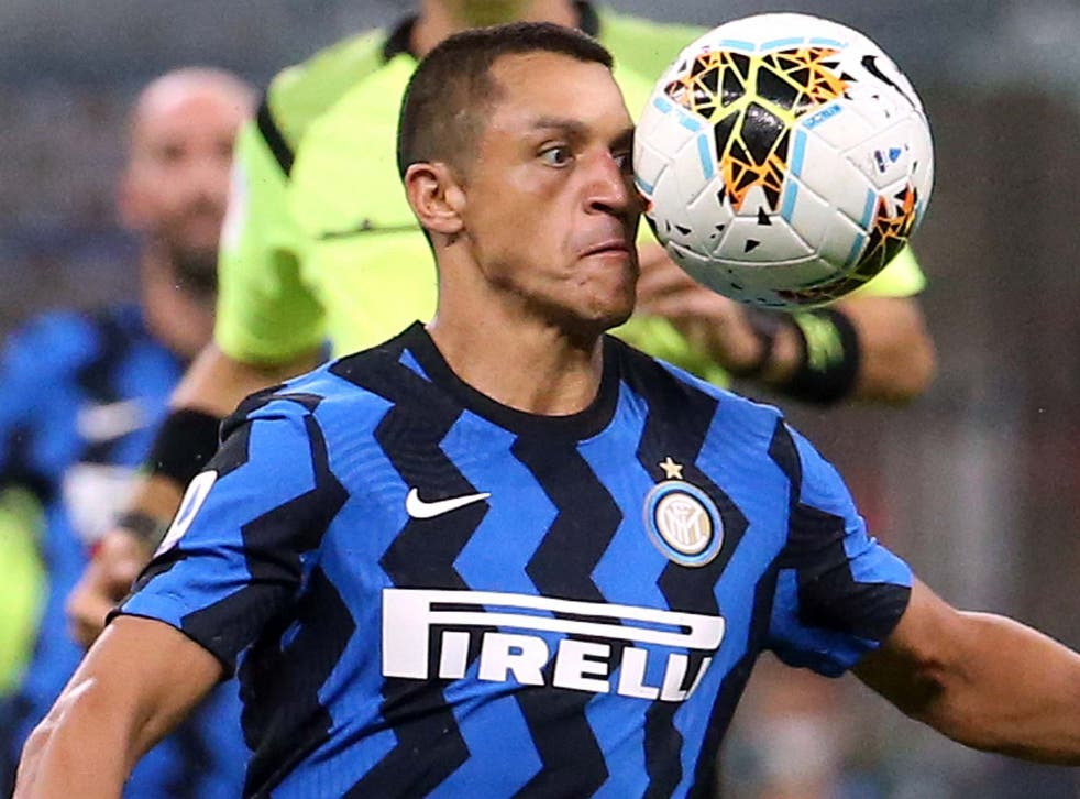 Alexis Sanchez has been at Inter on loan this season