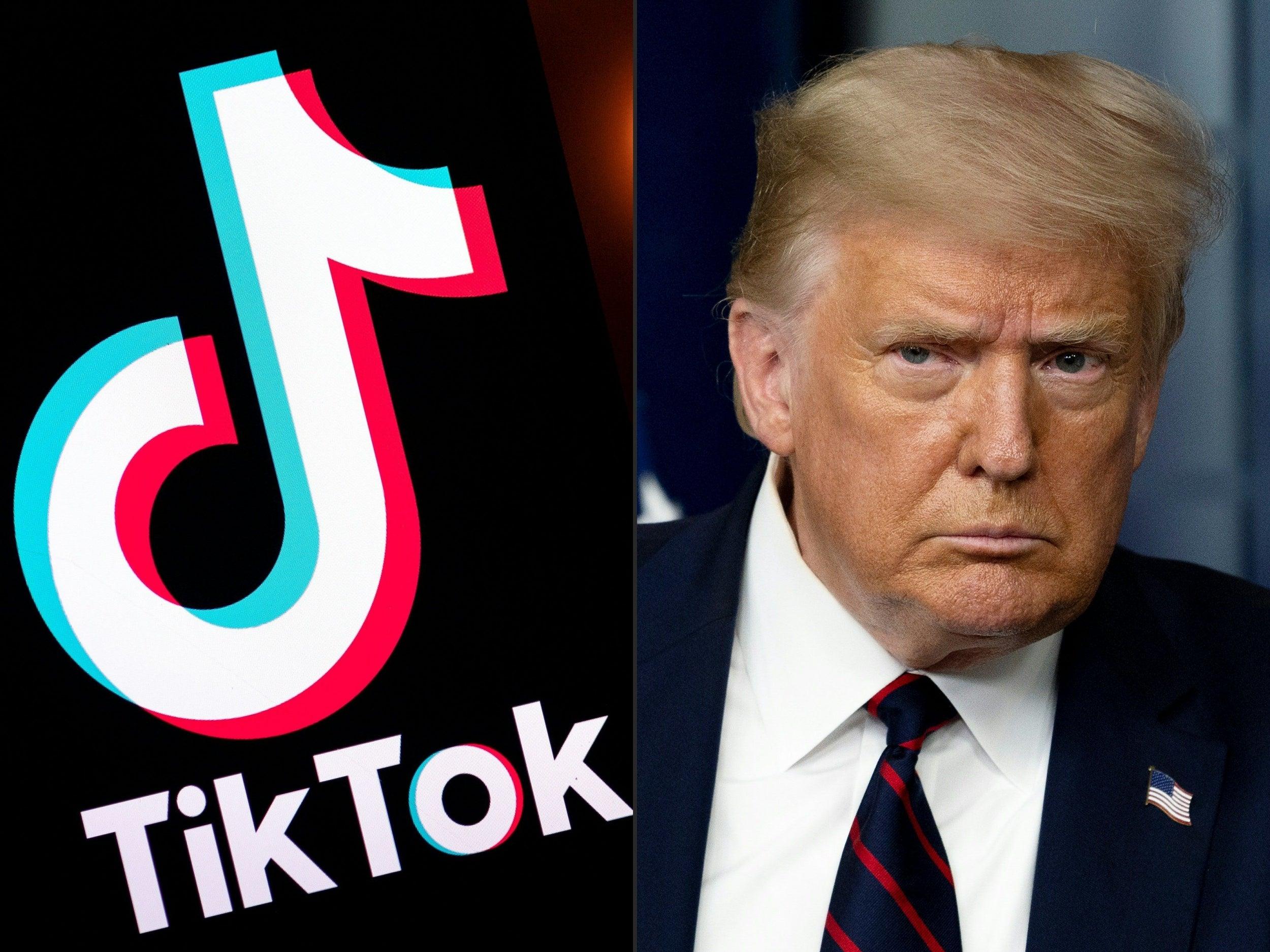 Trump Tik Tok
