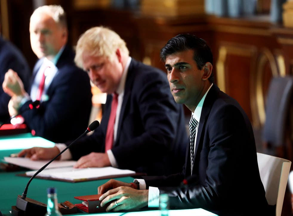 Chancellor Rishi Sunak faces a delicate balancing act – pressure for higher spending, with a smaller economy