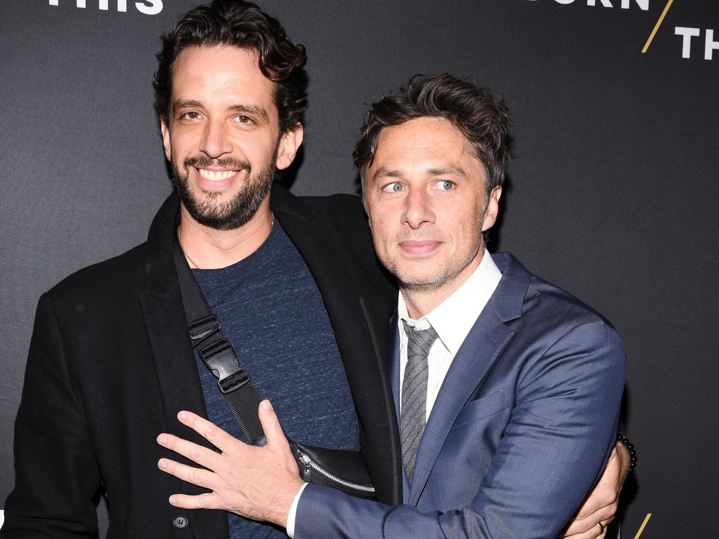 Zach Braff gets stunning tattoo tribute for late friend Nick Cordero