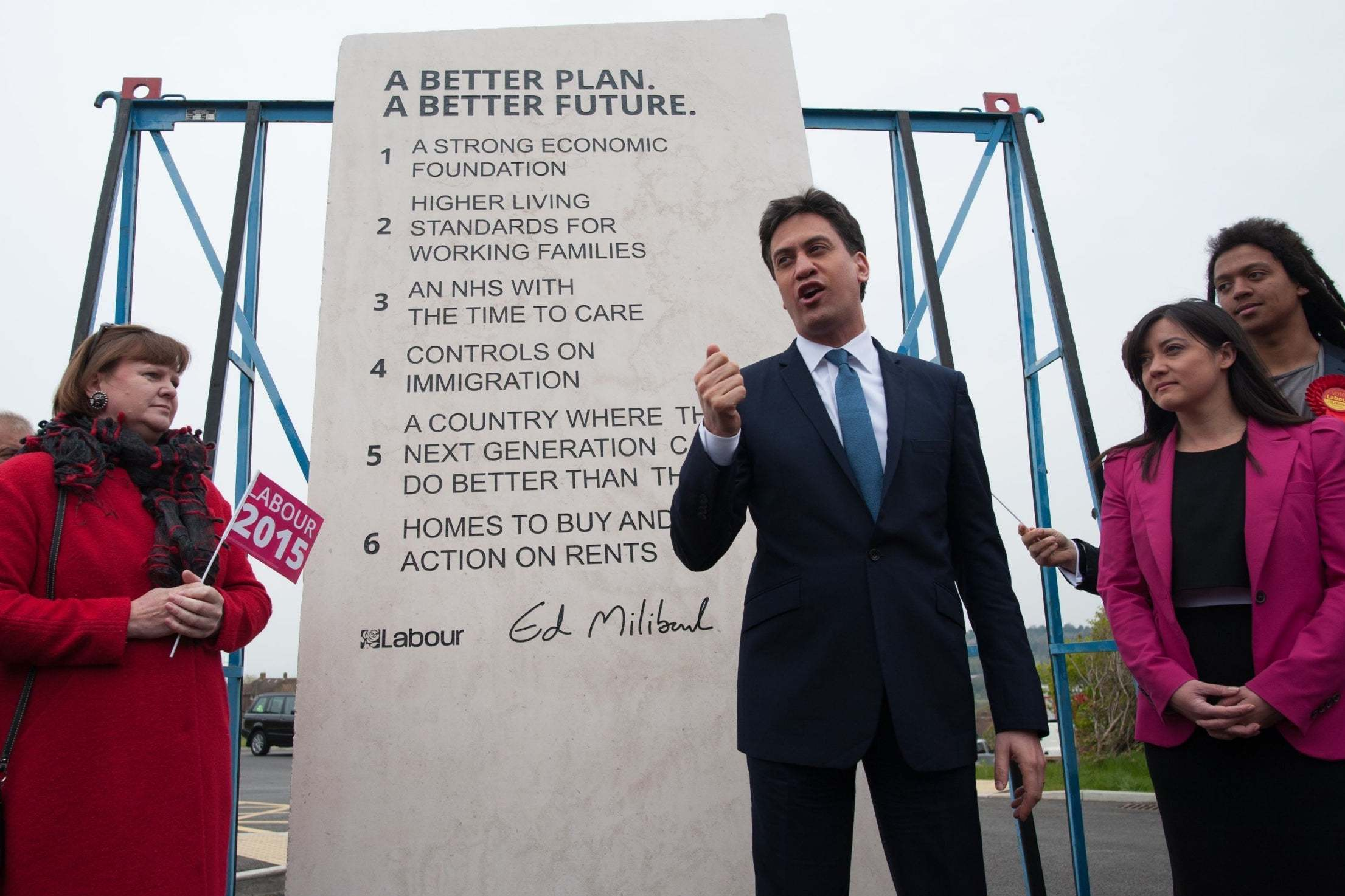 How many of Ed Miliband's policies have the Conservatives now enacted?