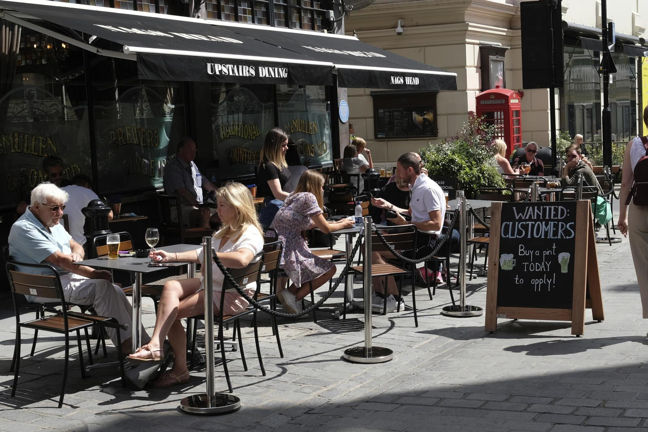 City pubs struggle as countryside drinkers enjoy relaxed restrictions