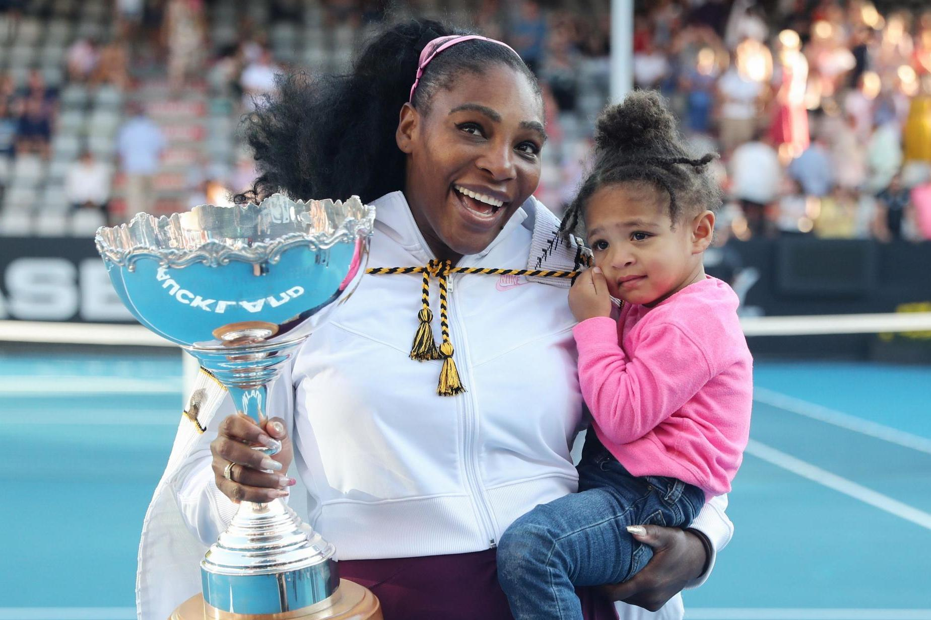 Serena Williams and daughter Alexis Olympia wear matching princess dresses