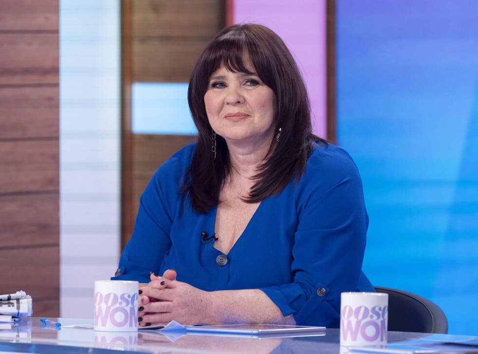 Coleen Nolan on Loose Women, 20 January 2020