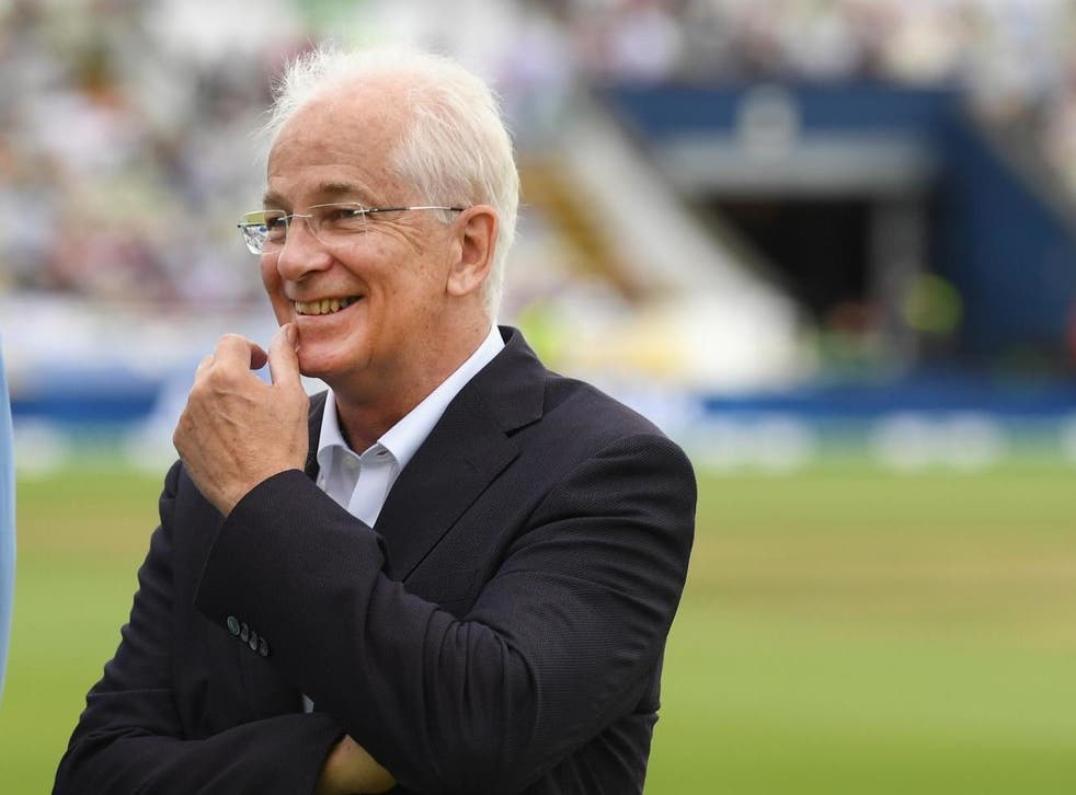 David Gower, the former England cricket captain and broadcaster