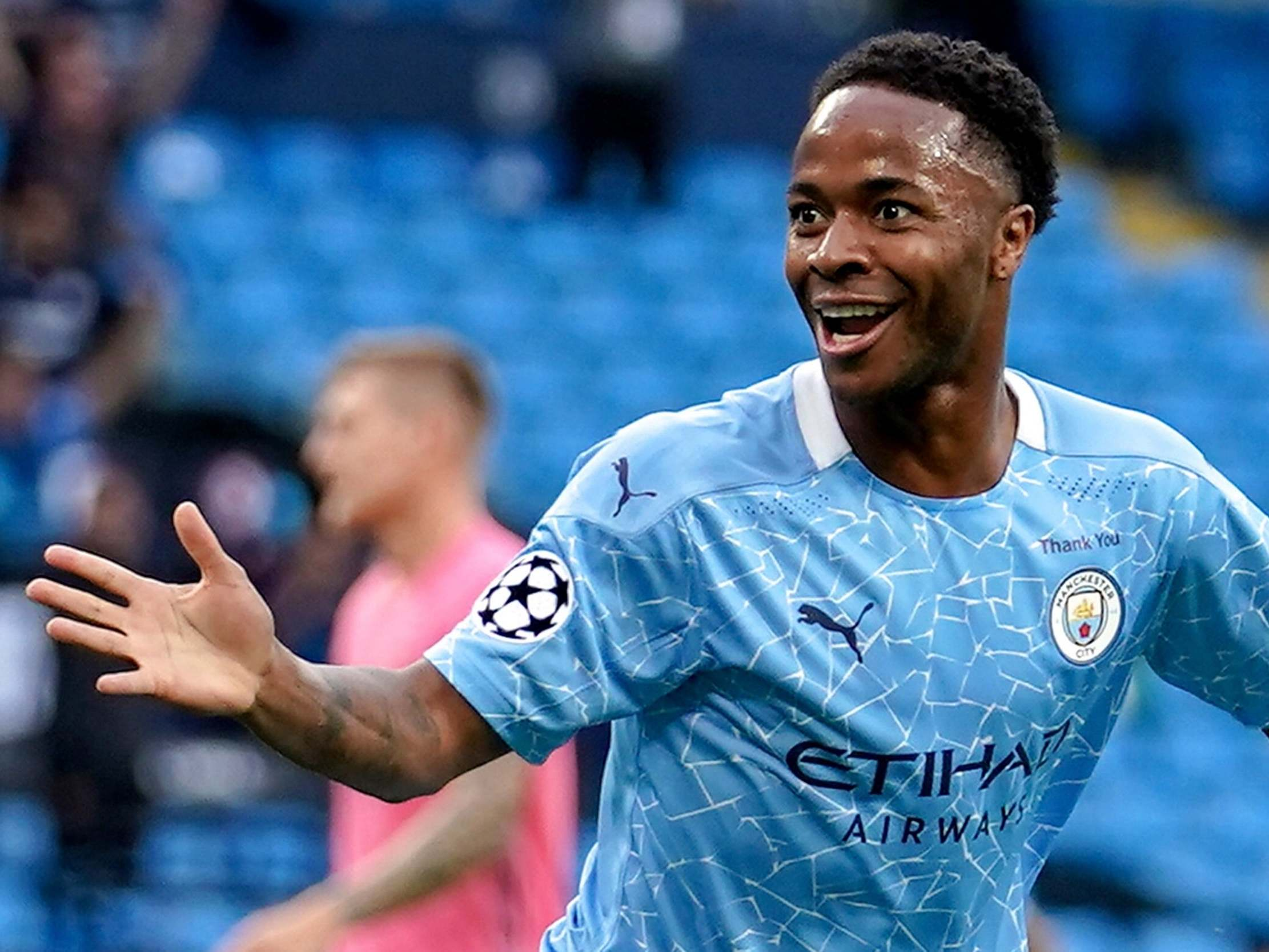 Raheem Sterling: Man City have 'energy and fight' to win Champions League