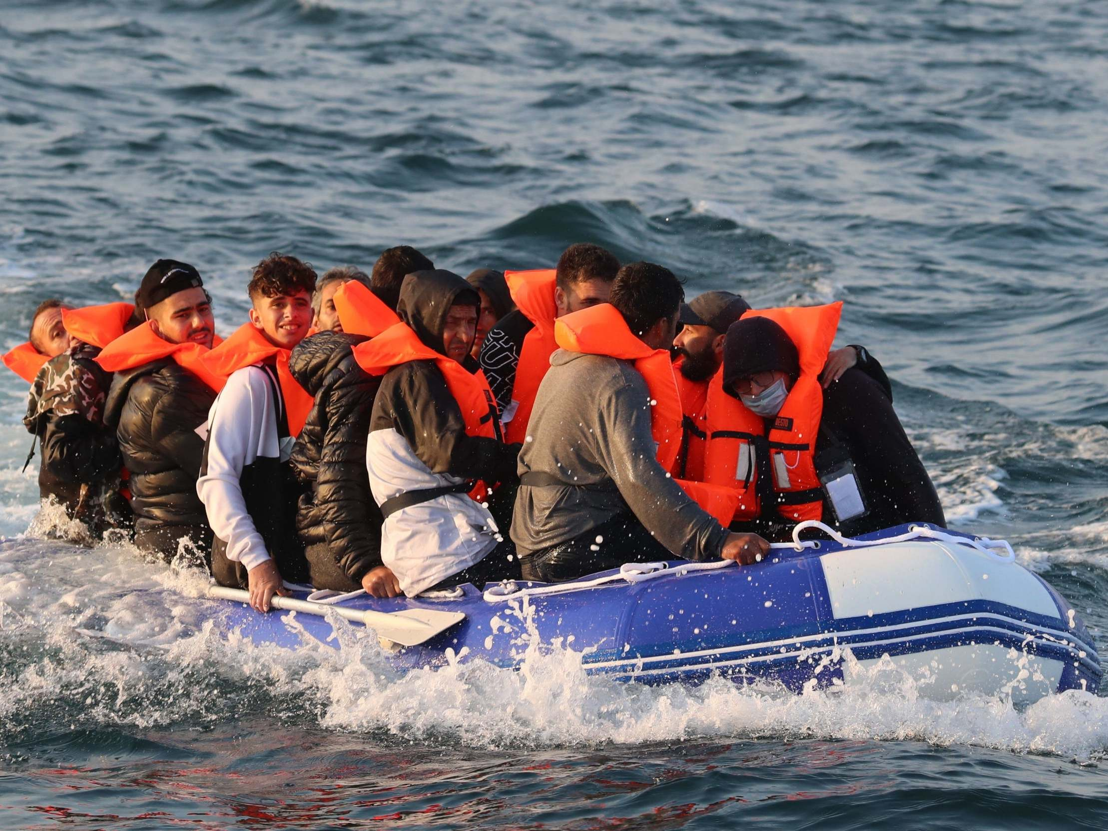 Opinion: The way we treat migrants crossing the Channel is wrong and against British values