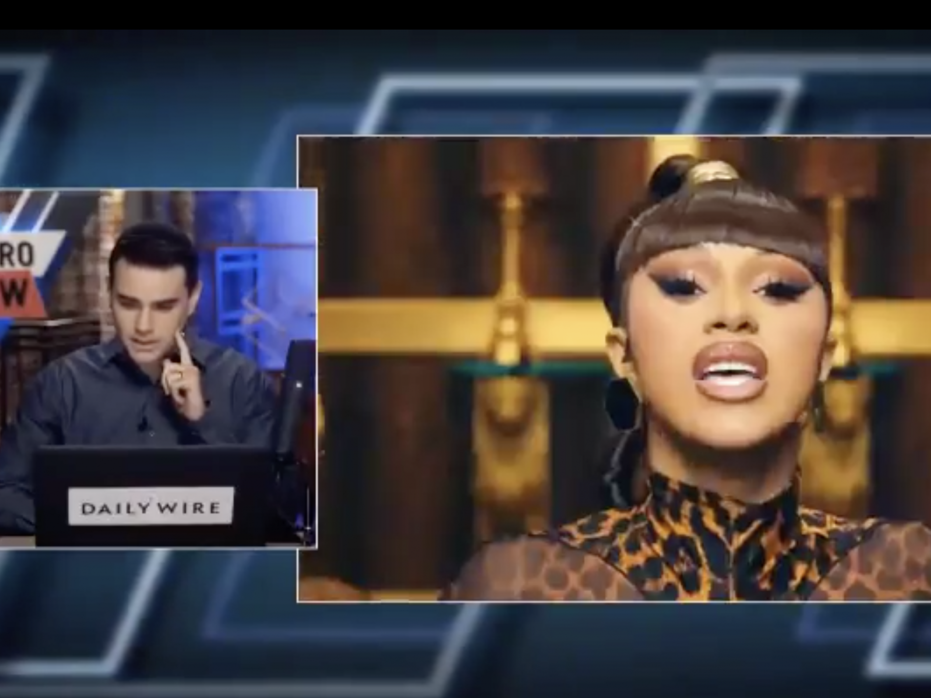 Cardi B Mocks Ben Shapiro After He Recites And Condemns Explicit