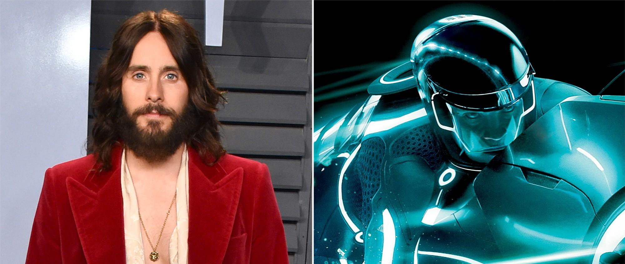 Jared Leto accidentally leaked the title of the new Tron film and fans can't believe it