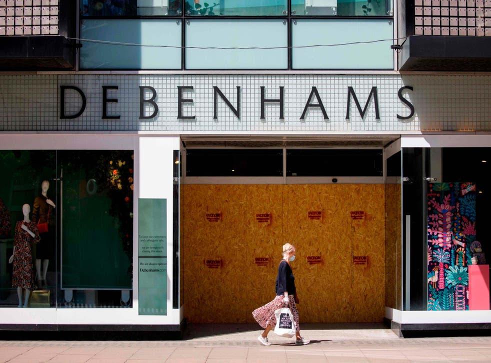 Debenhams announced 2,500 more jobs will be cut