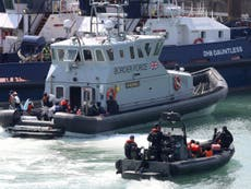 Ministers accused of 'stoking tension and division' over Channel boats