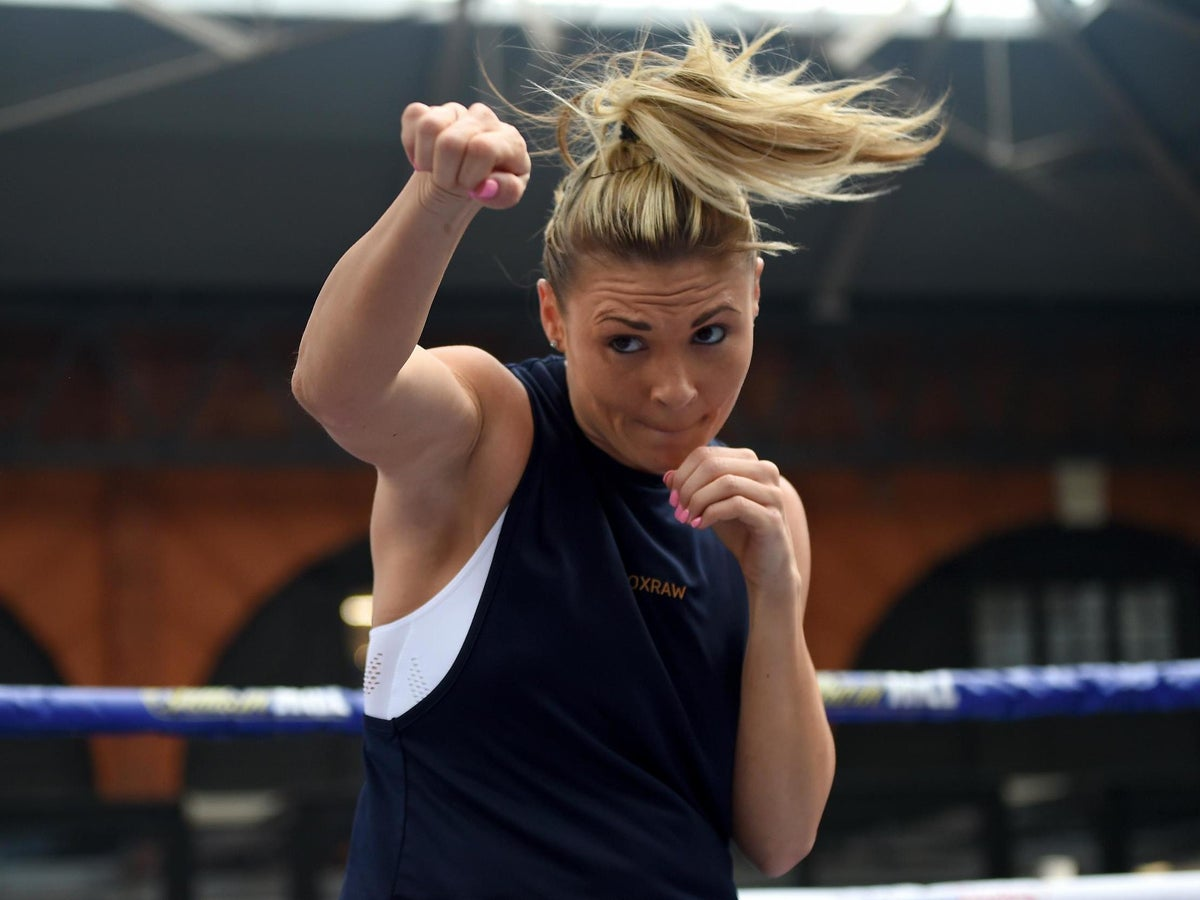 Shannon Courtenay: 'I Only Feel At Peace In Church Or In The Boxing Ring' | The Independent | The Independent