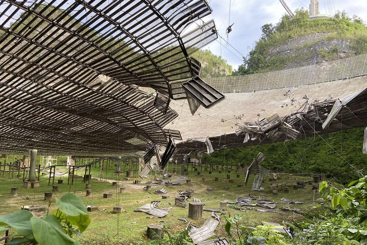 Arecibo Observatory: One of the world's biggest telescopes suffers major damage in freak incident