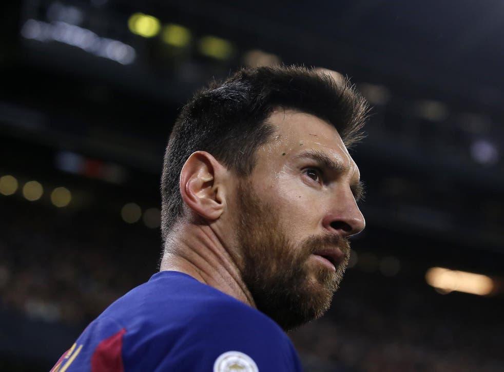 Lionel Messi dejó claro su deseo de salir del Barcelona