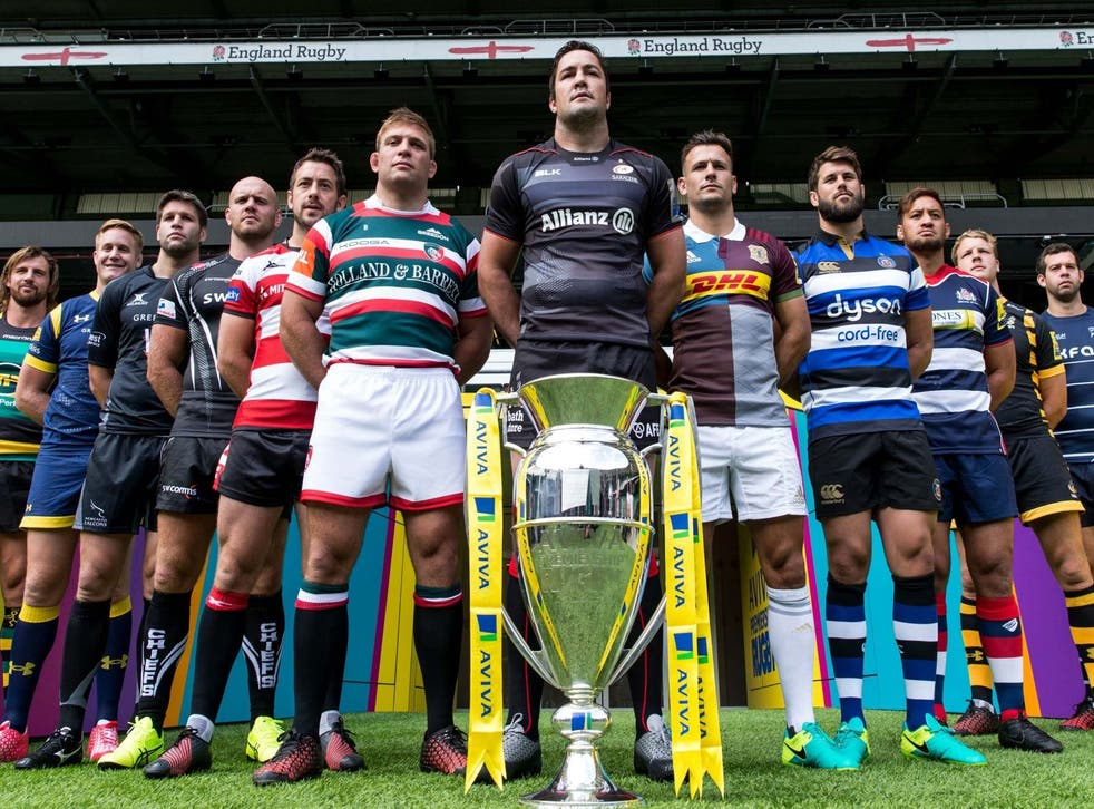 The Premiership returns this evening as Harlequins take on Sale Sharks