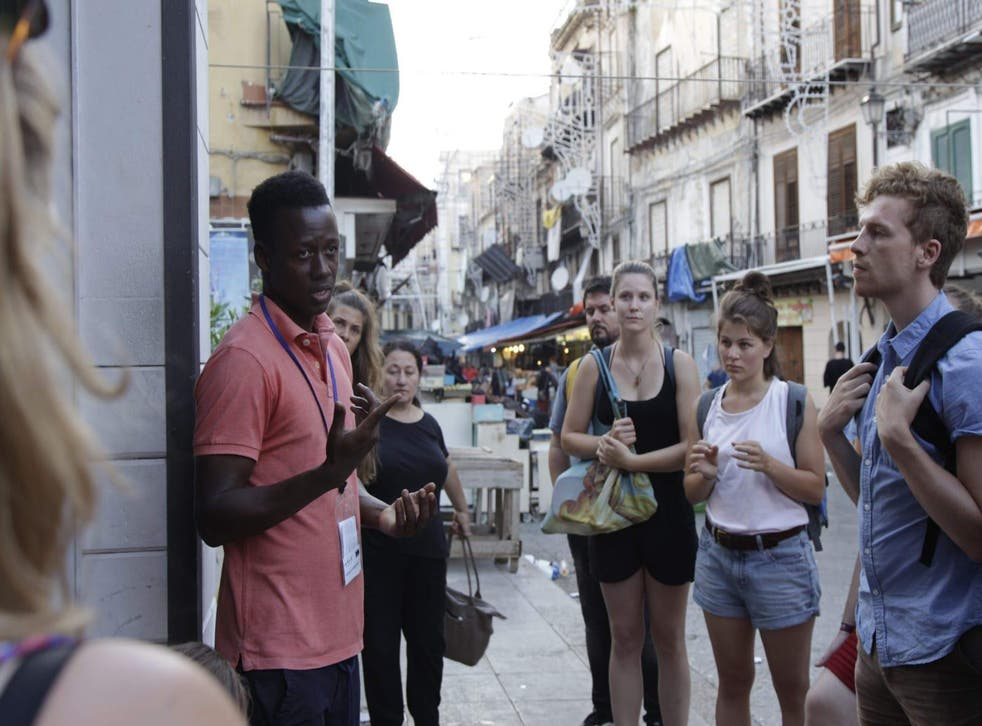 Palermo's migrant-led tours shine a different light on the city