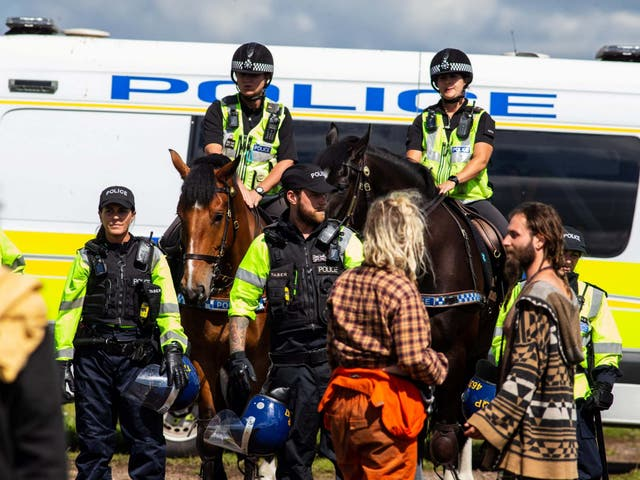 Police have stepped up patrols targeting illegal gatherings in recent weeks