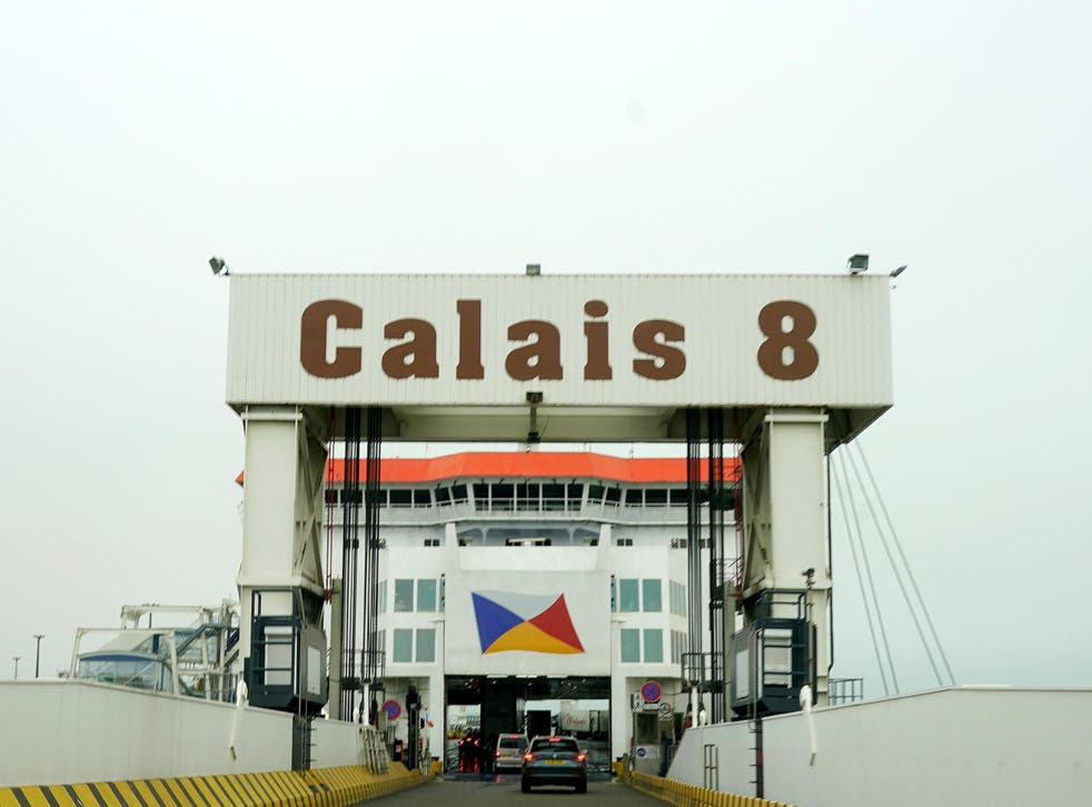 The Calais Ferry terminal in France is preparing for increased traffic on Friday as people rush to avoid new quarantine rules