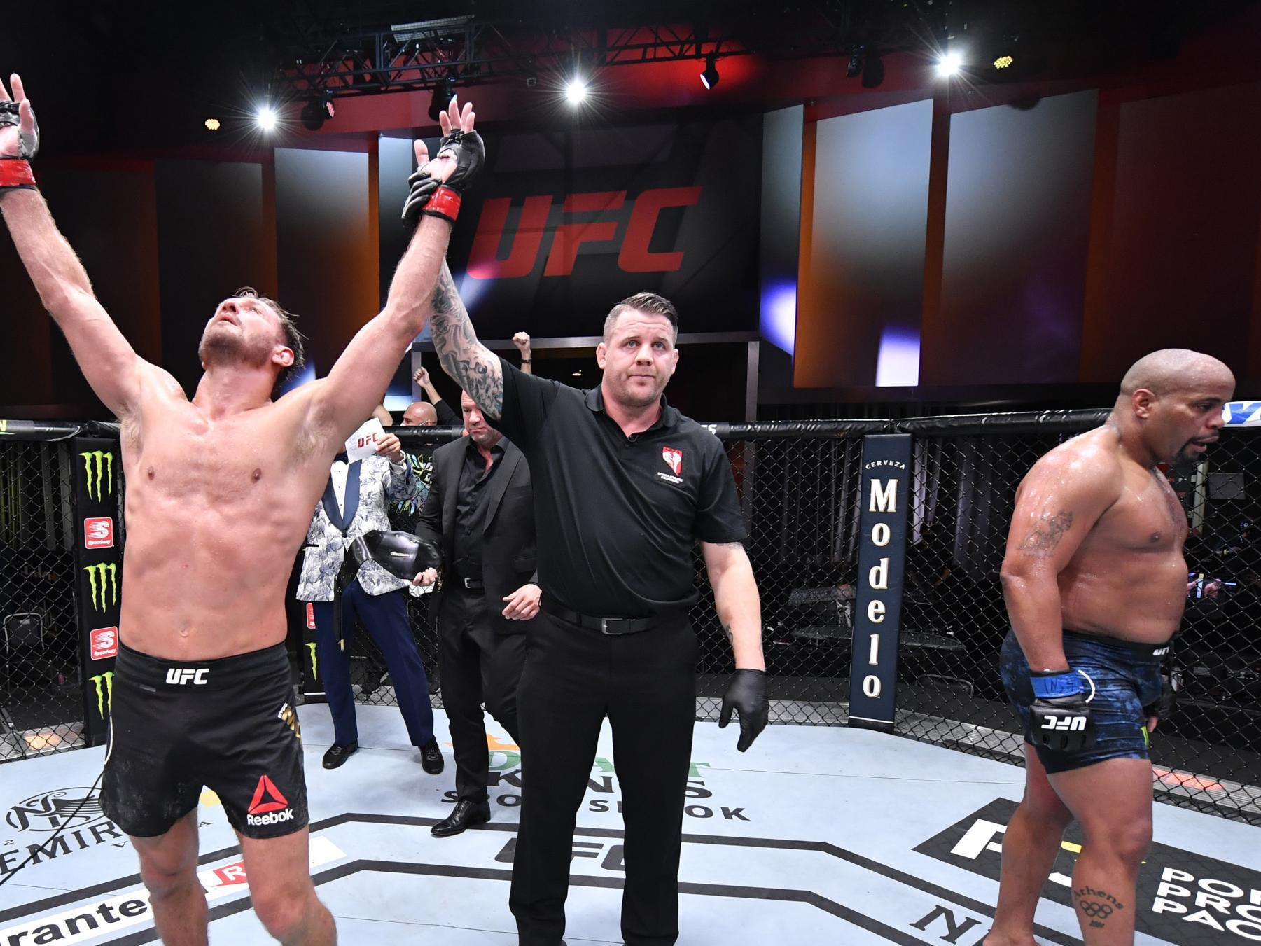 UFC 252 results: Stipe Miocic outpoints retiring Daniel Cormier to ...