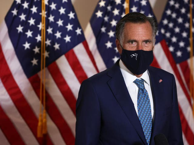 Romney said the administration did not 'ring all the alarm bells' early on in the pandemic