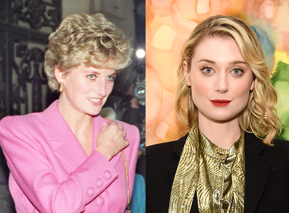 (Left) Diana, Princess of Wales and (right) actor Elizabeth Debicki, who will play the late royal on seasons five and six of 'The Crown'