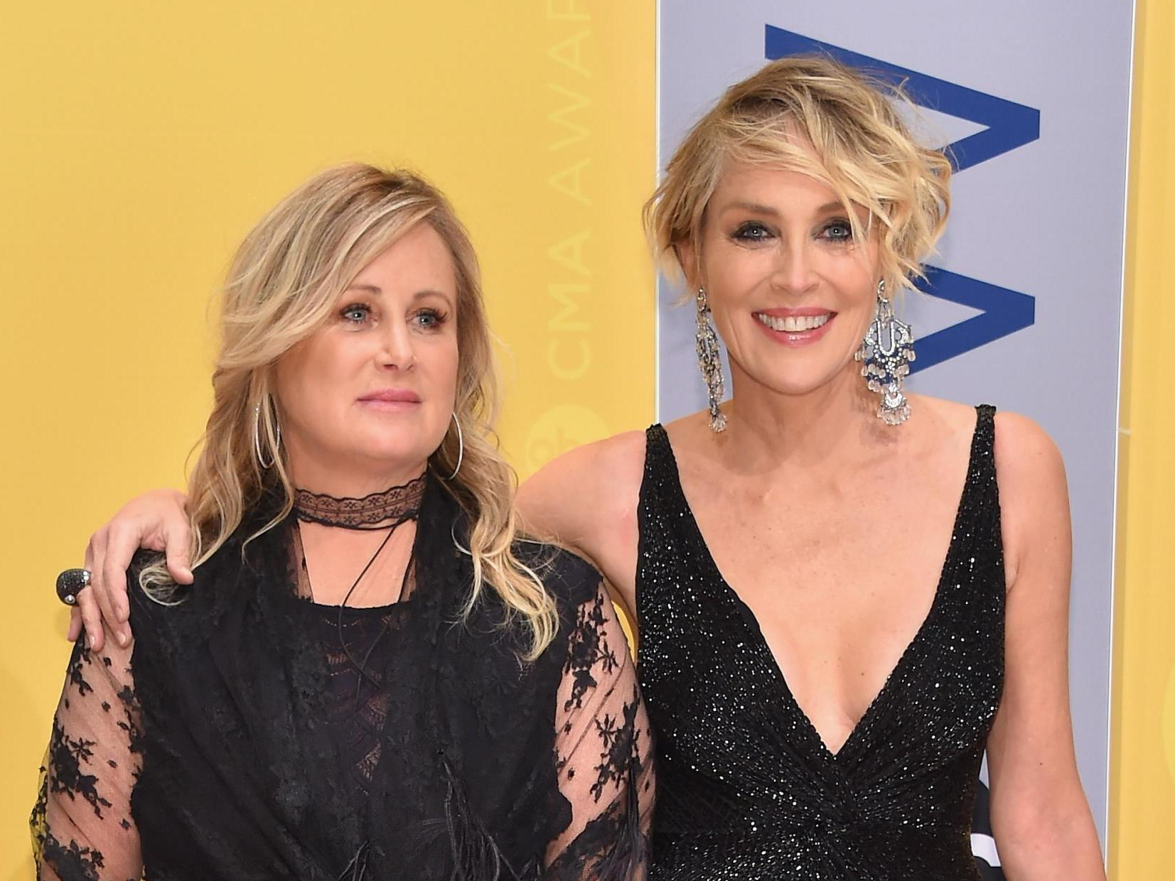 Sharon Stone's sister 'fighting for life' in hospital with coronavirus: 'One of you non-mask wearers did this' thumbnail