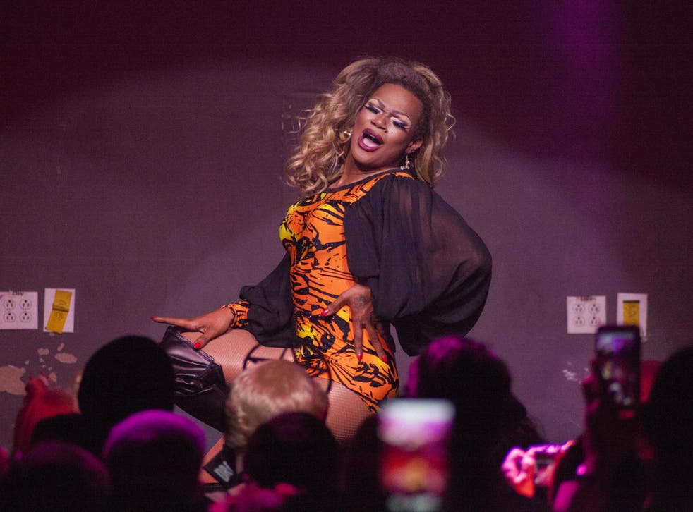 Chi Chi DeVayne competed on season eight of 'RuPaul's Drag Race'