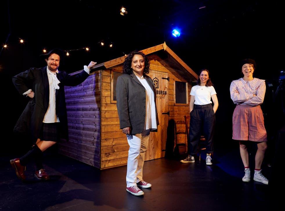 Shedinburgh Fringe Festival at the Traverse Theatre