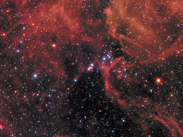 The new image of the supernova remnant SN 1987A