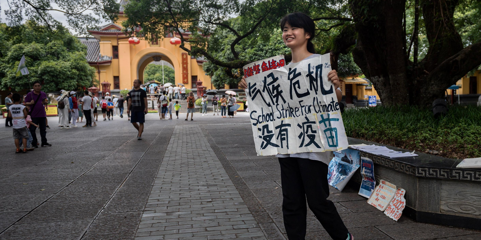 6 things you should know about Howey Ou, China's teen climate activist sensation | indy100