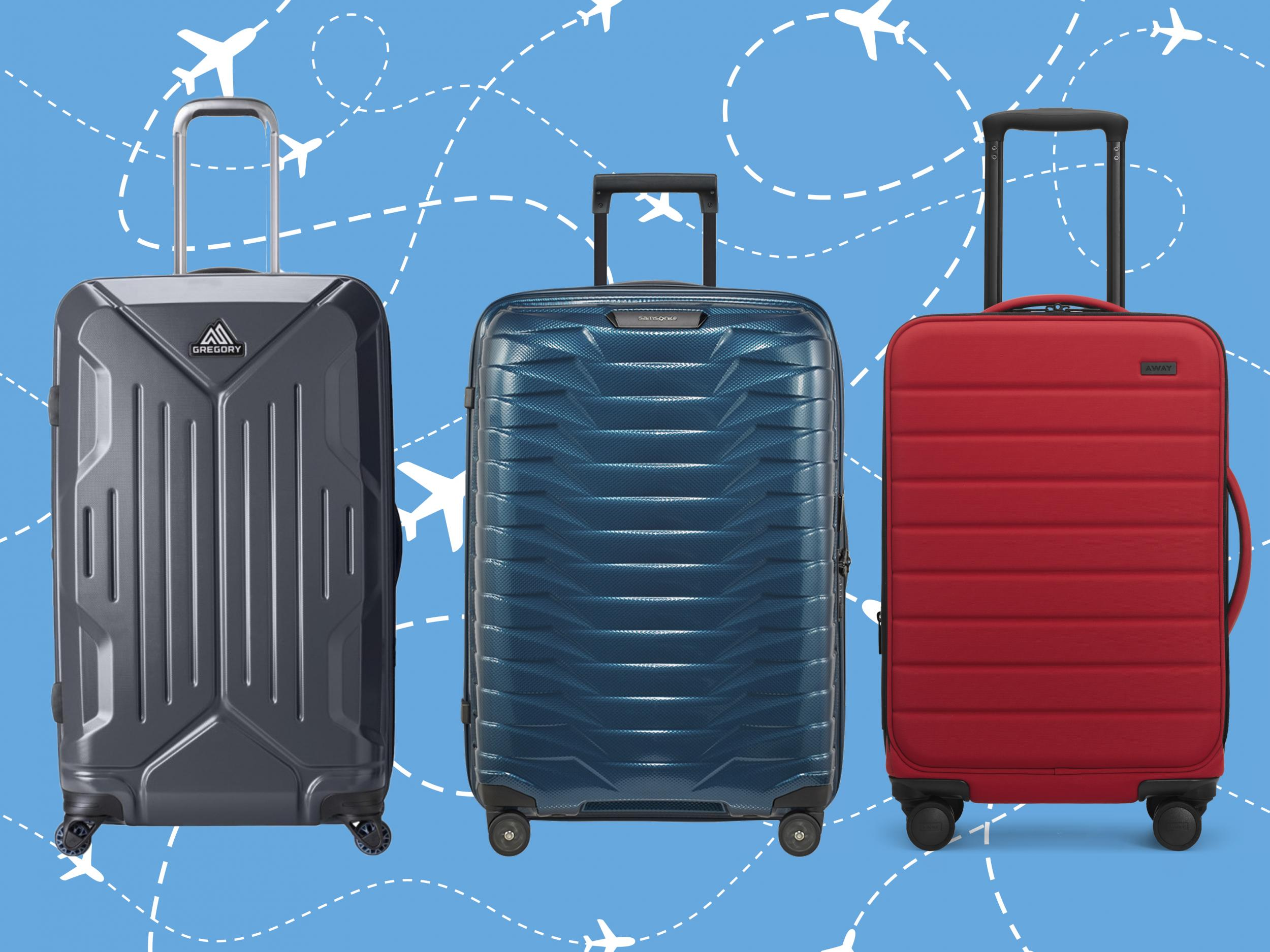 2 Wheeled Travel Trolley Hand Luggage Suitcase Duffle Holdall Bag