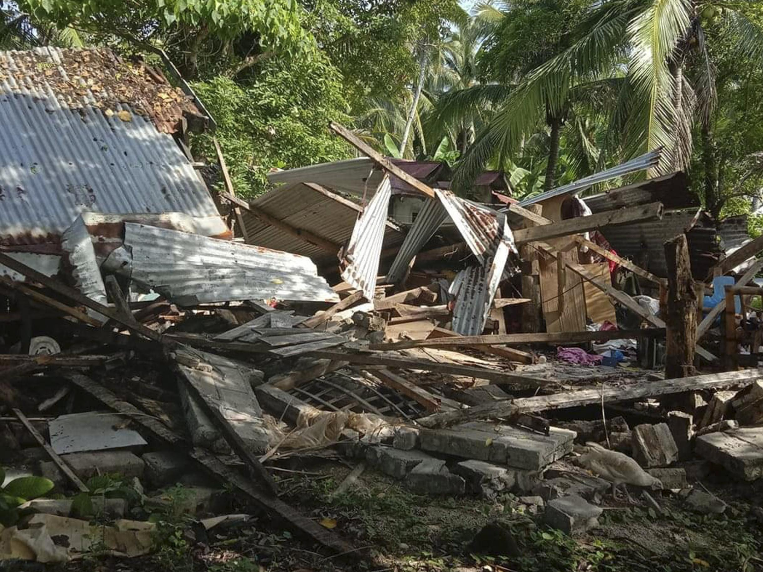 Philippines earthquake: At least one dead after 6.6 magnitude tremor | The Independent