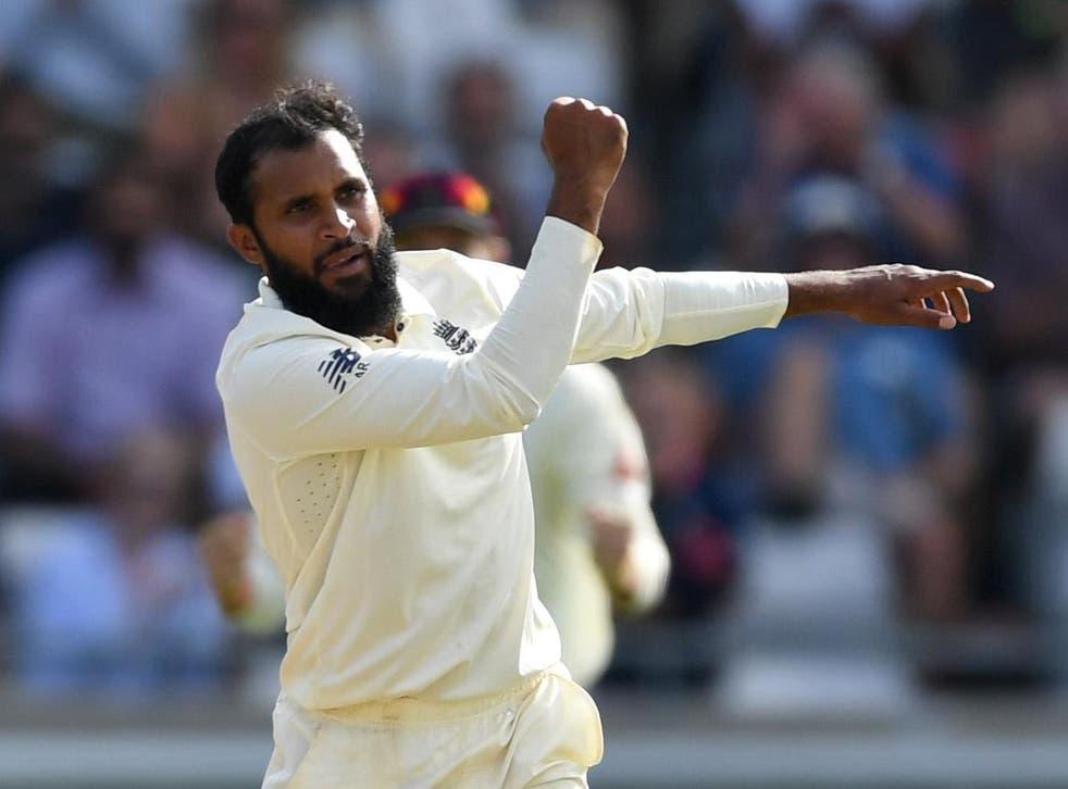 Adil Rashid hasn't played Test cricket since January 2019