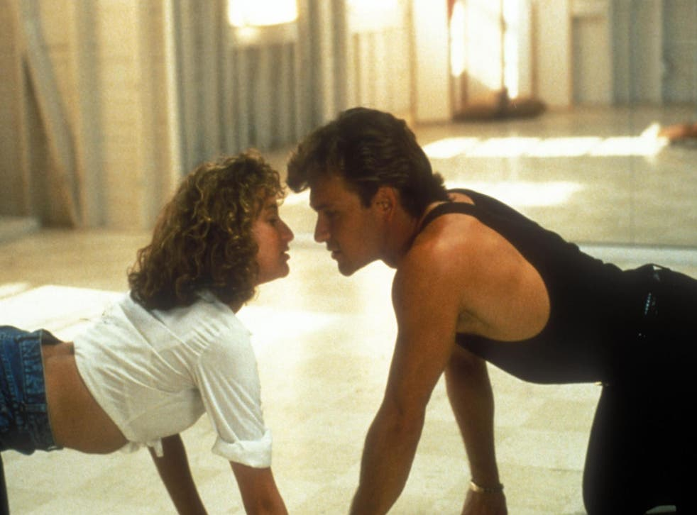 Jennifer Grey and Patrick Swayze in 'Dirty Dancing'.