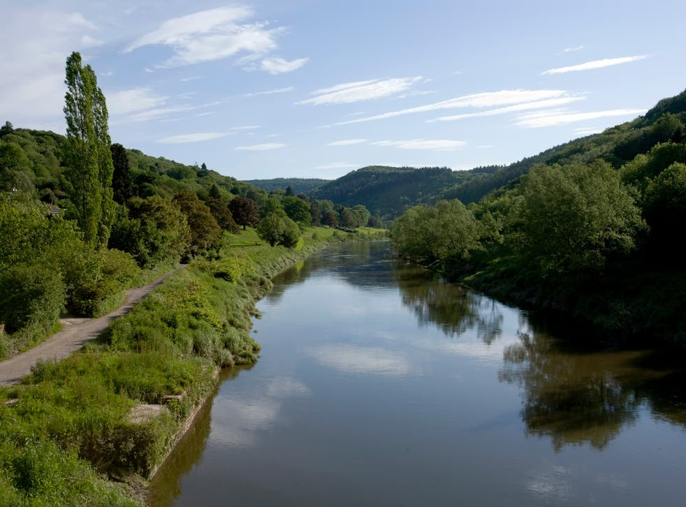 The River Wye on the border between Wales and England is among the rivers where water quality has declined in recent years, despite being in a designated Area of Outstanding Natural Beauty
