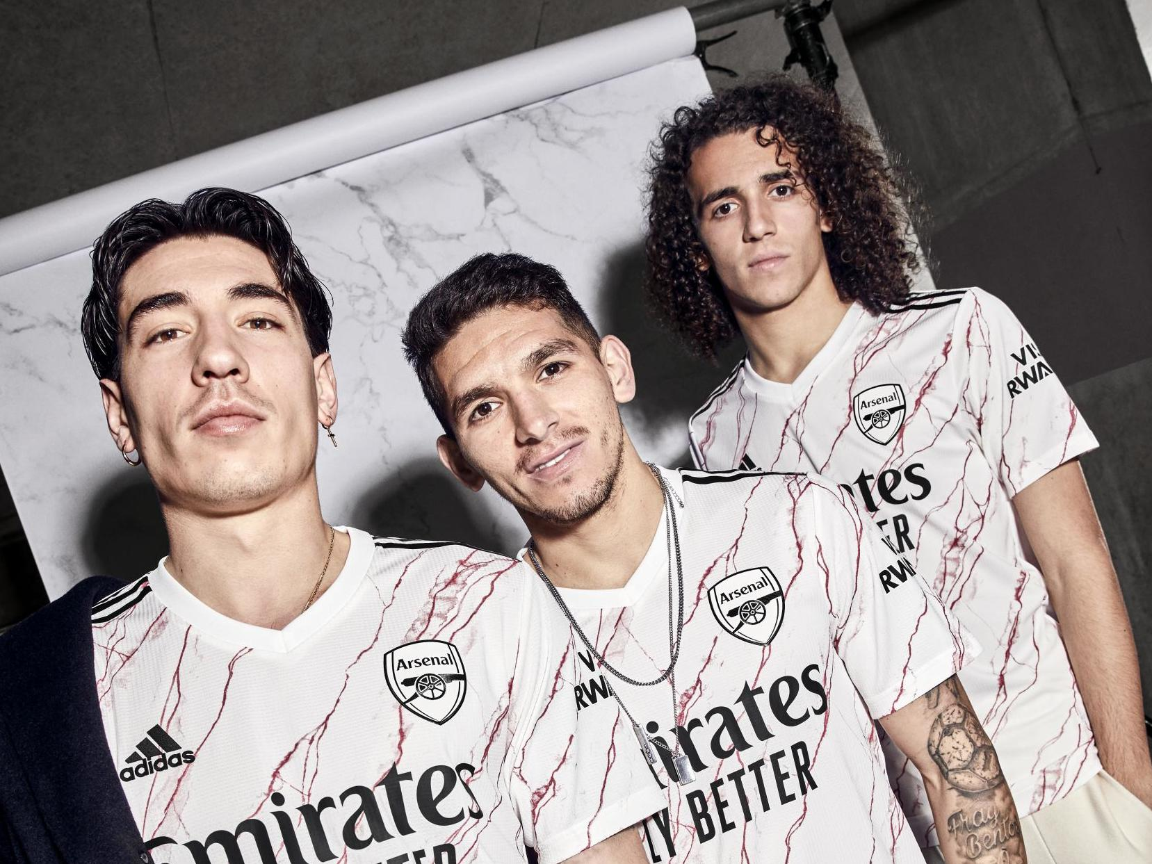 New Arsenal Away Kit Revealed The Independent The Independent