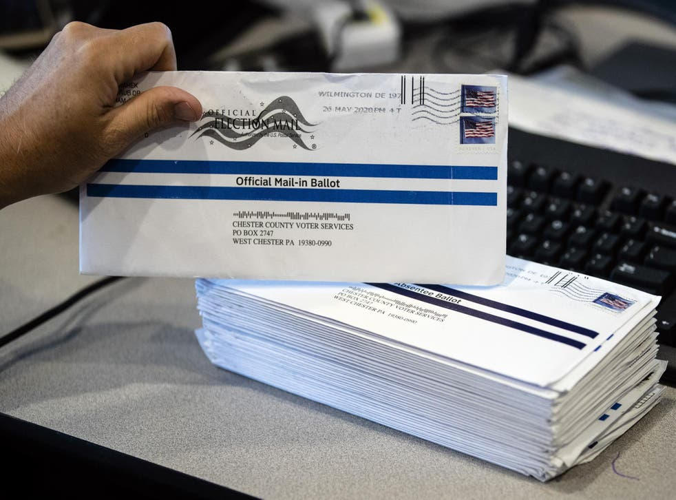 In the midst of a battle over mail-in ballots, the Trump campaign is seeking even more restrictions on their use in Pennsylvania, writes Richard Hall