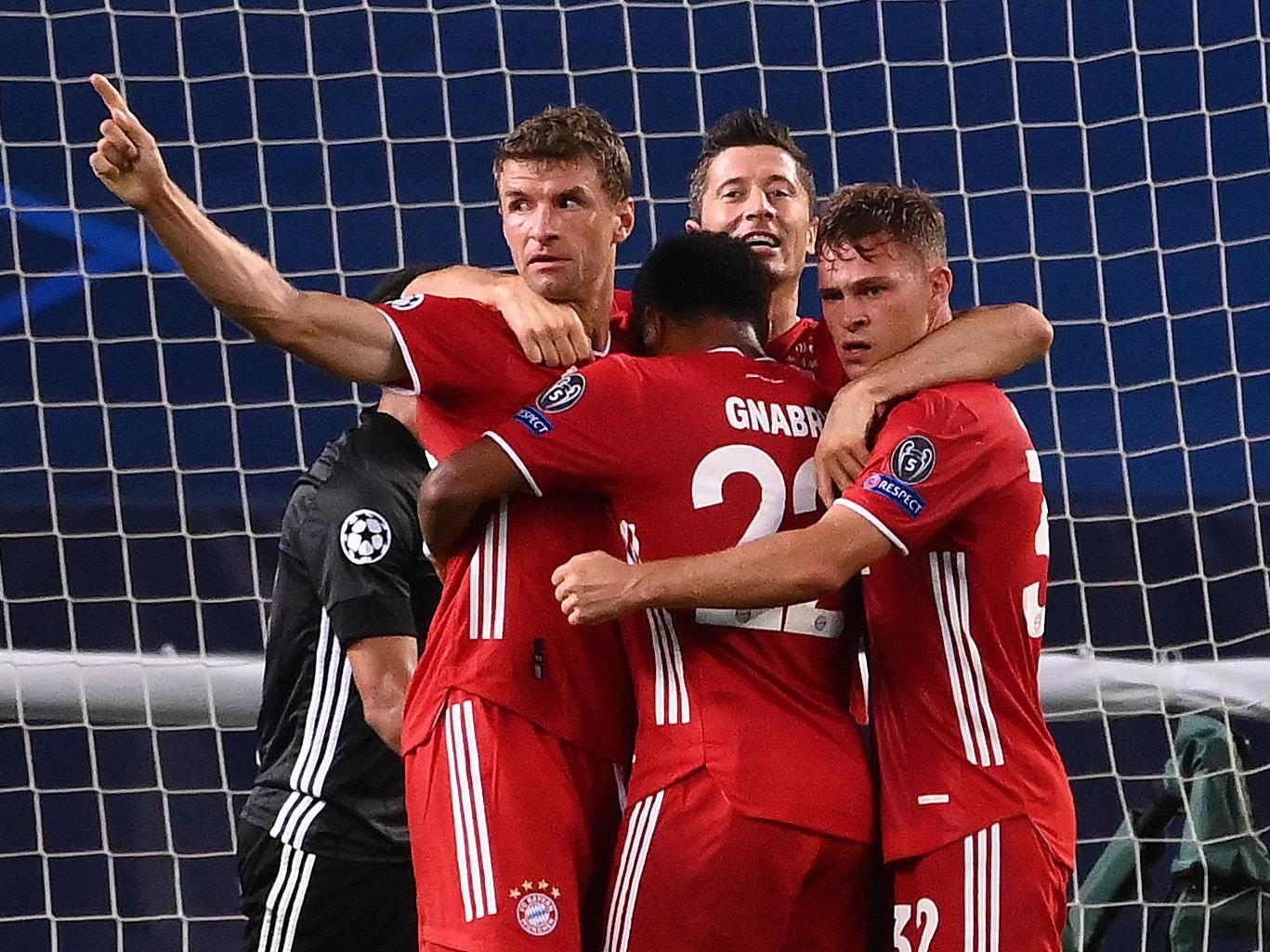Uefa Champions League Bayern Munich Vs Lyon Live Score Updates 2 0 In 2nd Half Glbnews Com