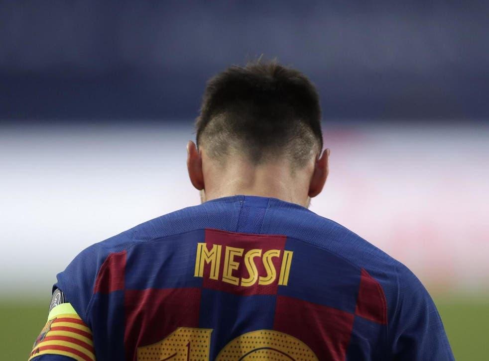 Lionel Messi pidió su salida del Barcelona