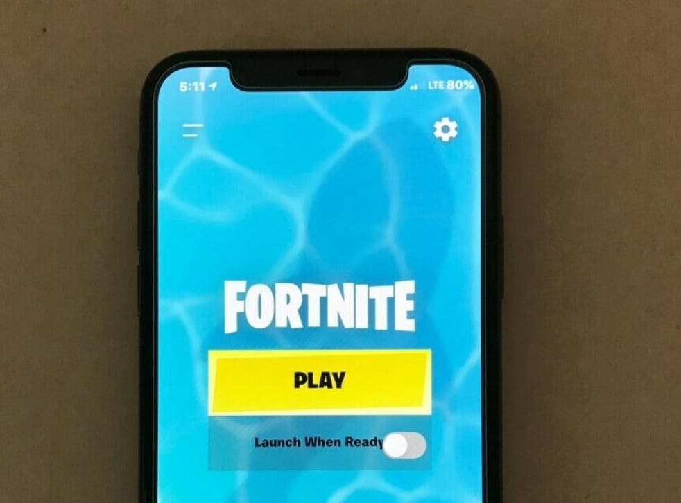 Listings for pre-owned iPhones with Fortnite installed range from a few hundred to a few thousand dollars