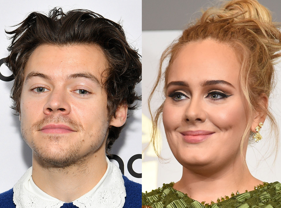 harry styles watermelon sugar earns rare chart feat last claimed by adele the independent the independent harry styles watermelon sugar earns