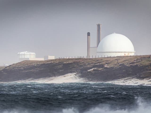 Dounreay nuclear power research facility site - fishing has been banned within 2km of the site in 1997 after radioactive waste had already seeped into the sea for decades