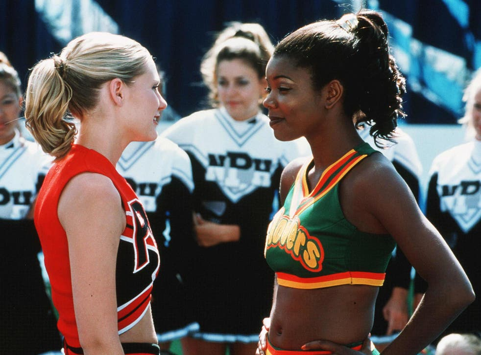 Unapologetically political: Kirsten Dunst and Gabrielle Union in 'Bring It On'